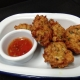 Prawn and sweetcorn fritters